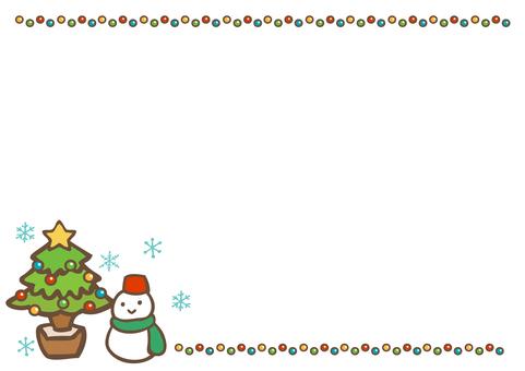 Winter material Christmas 109