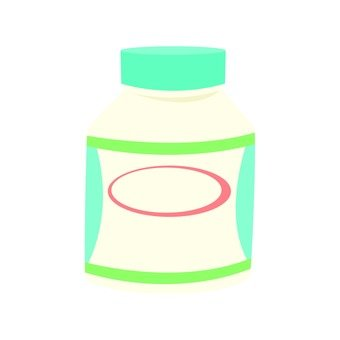 Diet - bottled Supplement (Blue)