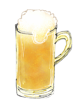 맥주 일러스트