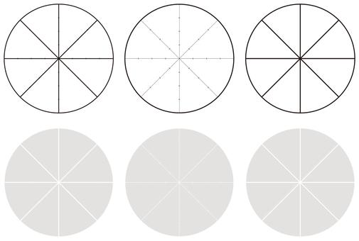円チャート表各種