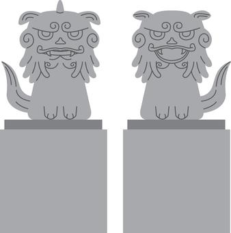 【Building】 Lioness lions