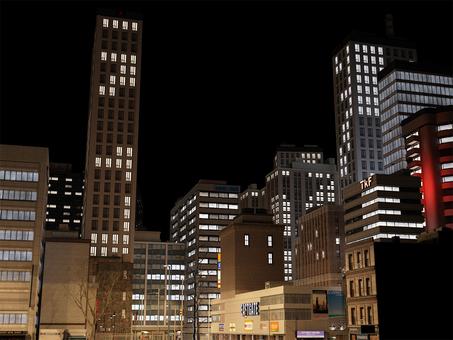 도시의 야경 CG2
