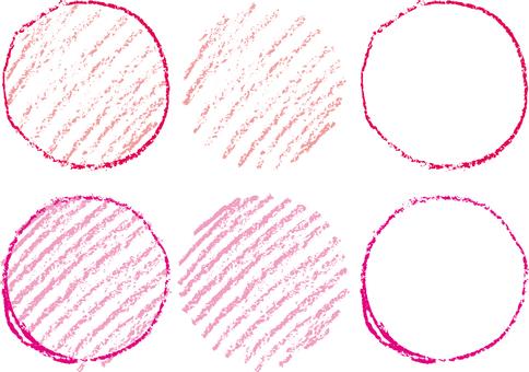 Crayon circle b