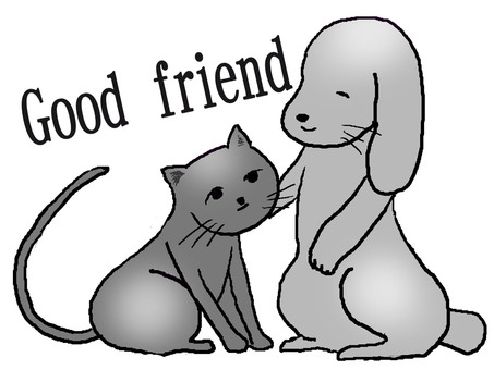 Friendly dogco & Nyanko