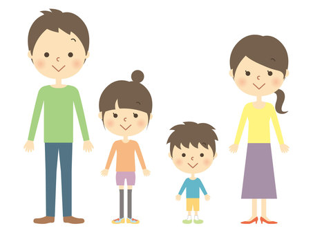 4 people family 1