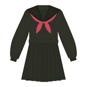 Black sailor suit