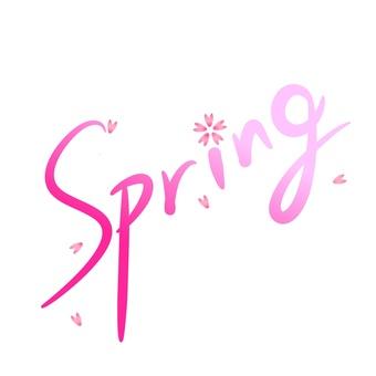 Spring English text