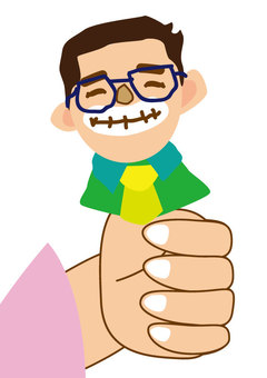 这个手指爸爸_01