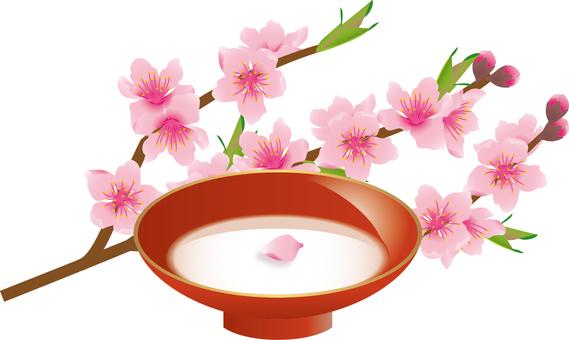 Cut _ peach blossom 3