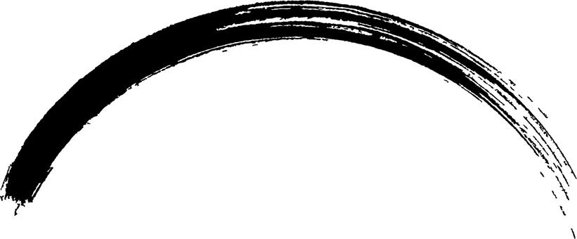 붓 42 브러쉬 곡선