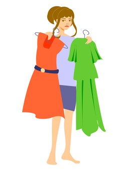 Clothes selection