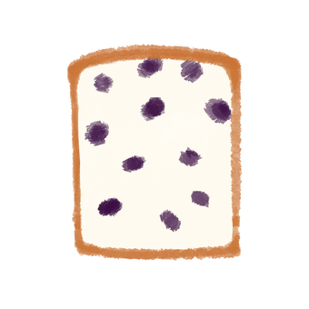 Bread pan raisins