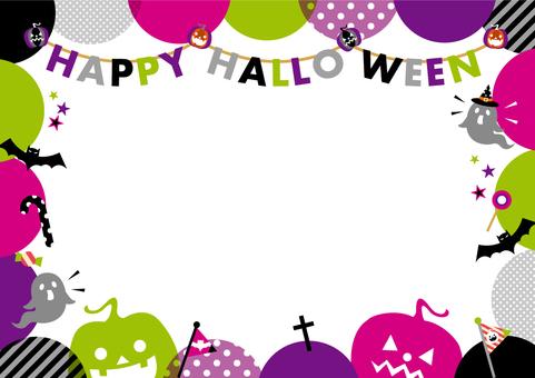 POP Halloween frame_B