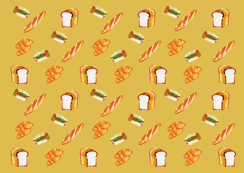 Hand painted wind bread background