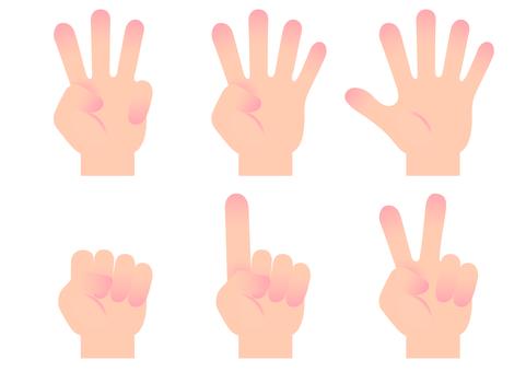 손가락 아이콘 3
