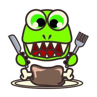 恐龍的膳食