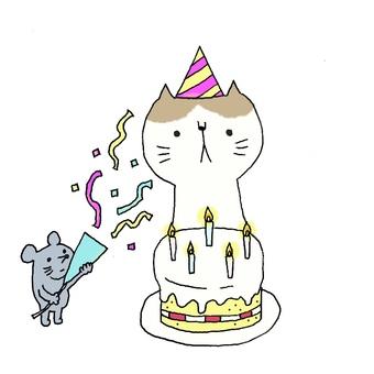 生日快樂貓