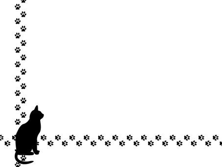 Black Cat Frame