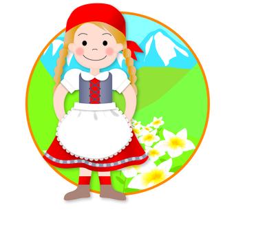 Alps girl