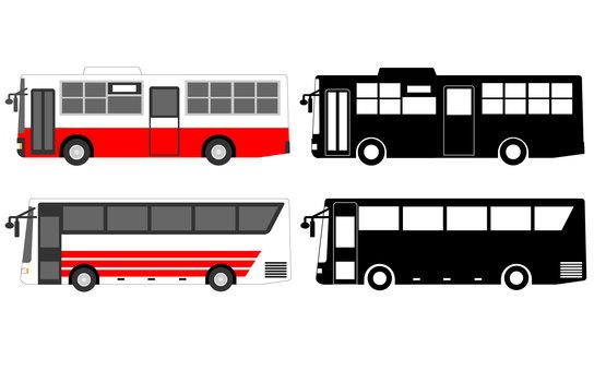 Working car (bus) material set