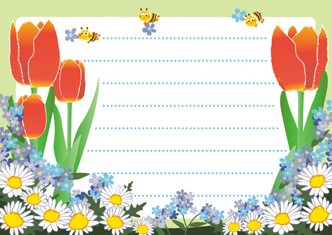 April _ Apr _ Flower fields and honey bees 3