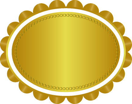 Gold decorative frame 3
