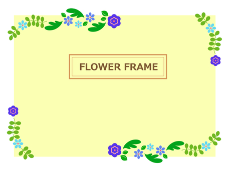 Flower frame 59