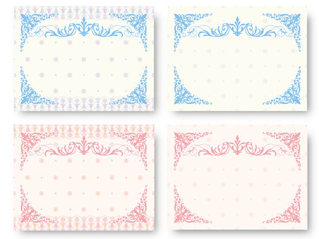 Classic Pattern Card 05