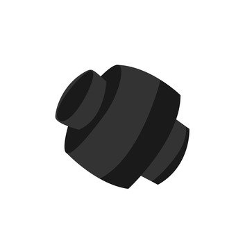 Automobile muffler cutter