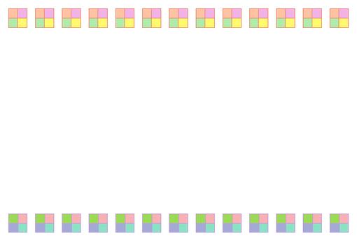Frame Square 1 White