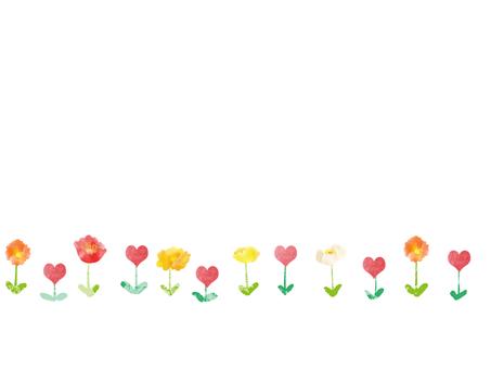 꽃 귀여운