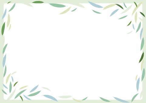 Willow leaf frame