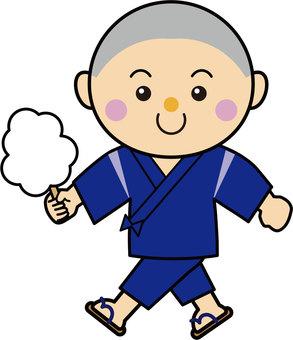Boy 16_05_03 (Kotohira, cotton candy)