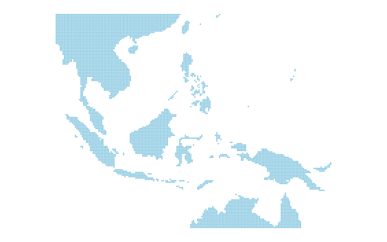 Dot Map Southeast Asia 1