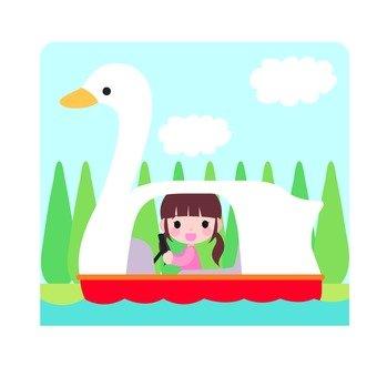 Swan boat icon (1)