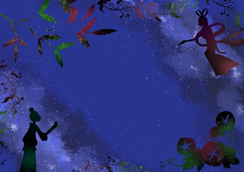 Tanabata / Milky Way Frame
