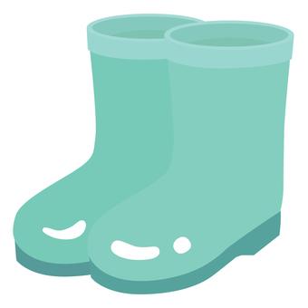 Boots 01 blue green