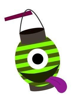 초롱 유령 (녹색)