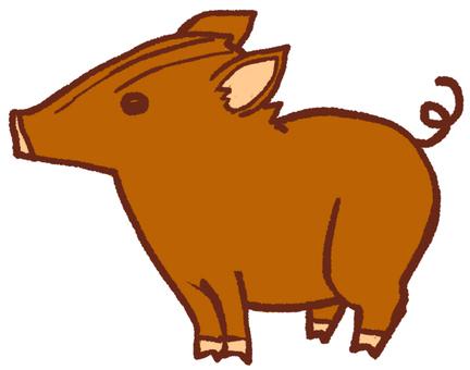 """조디악 동물 """"돼지""""멧돼지 2"""