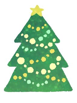 絵本風クリスマスツリー