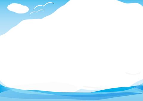 구름 프레임 2