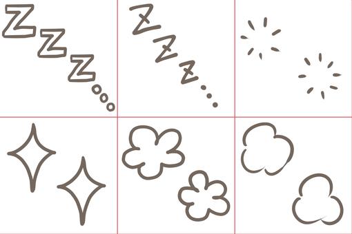 Manga cartoon symbol 06