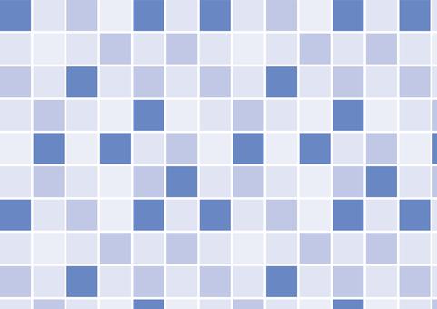 Mosaic tile ◆ Blue