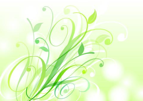 Fresh green material 30
