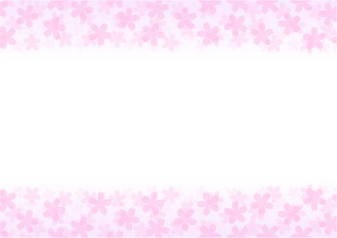 프레임 「벚꽃」-8