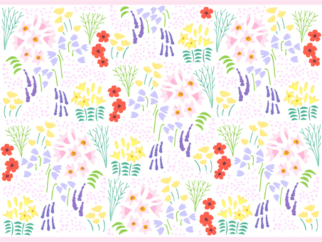 Various flowers and plants wallpaper 03