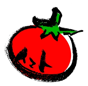 "Brush character ""Tomato"" with color"