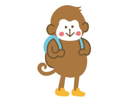 Monkey Backpack is cute