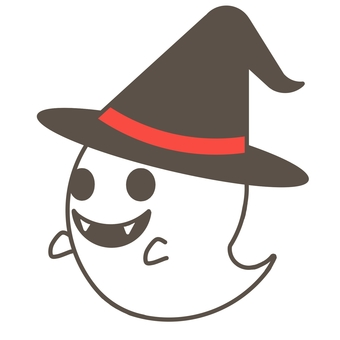 Halloween ghost (hat)