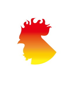 Rooster _ Silhouette _ Gradec 2